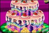 العاب تحضير الكعكة اللذيذة