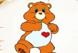 لعبة تلوين الدب السعيد جديدة 2014
