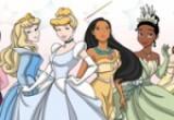 لعبة تلوين الأميرة الجميلة مع صديقاتها