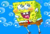 لعبة تلوين سبونج بوب الشهيرة داخل المياه