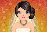 لعبة تلوين العروسة وفستانها الجميل في القصر