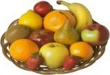 لعبة تلوين فواكه وخضروات داخل طبق