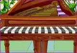 لعبة العزف على البيانو في العيد