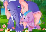 لعبة السنجاب والفيل النائم