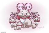 لعبة تلوين القطط الثلاثة 2014