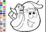 لعبة تلوين حقيبة باربي المرحة وصديقها موزو