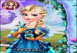 لعبة زهرة الثلج الجميلة