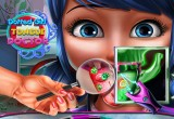 لعبة علاج اسنان بن تن