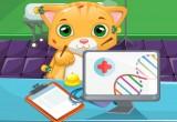 لعبة عملية جراحية للقطط