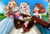 لعبة مغامرة العريس في الفقاعات الملونة