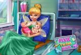 لعبة ولادة الام الحامل الجديدة
