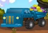 لعبة شاحنة نقل الصخور الجديدة