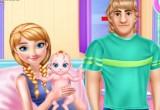 لعبة انا وكريستوف رعاية الطفل