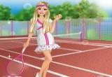 لعبة تلبيس باربي ملابس التنس
