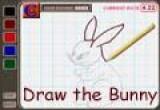 لعبة رسم وتلوين الارنب الجميل 2014