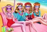 لعبة باربي في شاطئ الحب 2021
