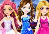 لعة تلبيس الفتيات الثلاثة