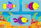 لعبة تلوين السمكة في الحوض