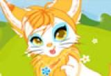 لعبة تلوين قطة جميلة 2014