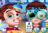 لعبة اجراء عملية جراحية للعين