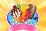 لعبة تحضير بوظة الصيف بالشوكولا