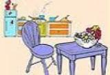 لعبة تلوين وترتيب المطبخ 2014