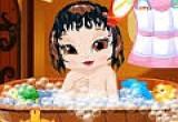 العاب استحمام بيبي سنووايت2016