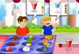 لعبة تحضير عصير الكركديه في رمضان