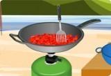 العاب طبخ اللحم بالفلفل الشطة