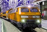 لعبة قطار الركاب والبضائع