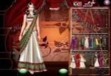 لعبة تلبيس وتلوين فساتين هندية