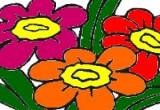 لعبة تلوين زهور و تلوين ورود في التحفة