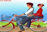 لعبة تلبيس الخطبين على الدراجة 2017