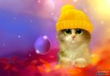 لعبة تلوين القط الصغير 2014