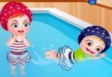 العاب بيبي هازل عالم السباحة