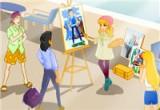 لعبة رسم احلام البنات