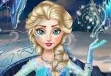 لعبة تلبيس ومكياج ملكة الثلج