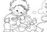 لعبة تلوين الطفل الرضيع 2014