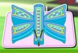 لعبة تحضير باربي كيكة الفراشة