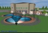 لعبة تلوين حمام السباحة 2014