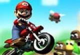 لعبة دراجات ماريو النارية  الصاروخية