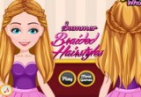 لعبة تلوين وتصميم تسريحات الشعر