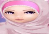 لعبة صالون الحجاب