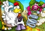 لعبة مزرعة الدجاج Chicken Rush