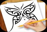 لعبة رسم الوشم تصاميم
