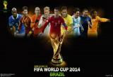 لعبة تلوين كأس العالم 2014