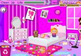 لعبة ديكور غرفة نوم باربي الناعمة