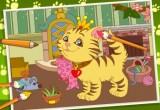 لعبة رسم القطة الجميلة 2014