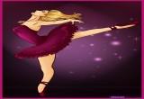 لعبة تلوين باربي راقصة الباليه
