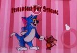 لعبة صنع لوحة صداقة القط والفأر